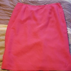 Pink Jones Wear lined skirt suit